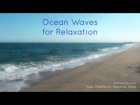 Nature Sounds Ocean Waves for relaxation, yoga, meditation, reading, sleep, study [ Sleep Music ]