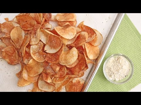Homemade Sour Cream & Onion Chips – Laura Vitale – Laura in the Kitchen Episode 918