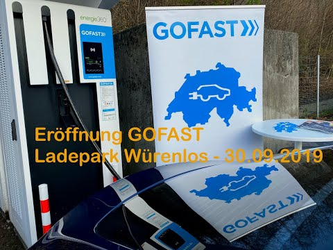 Eröffnung GOFAST Ladepark Würenlos