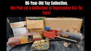 1930s Great Depression Era Tin Toys & Barbie, Toy Hunting Outside of My Comfort Zone.