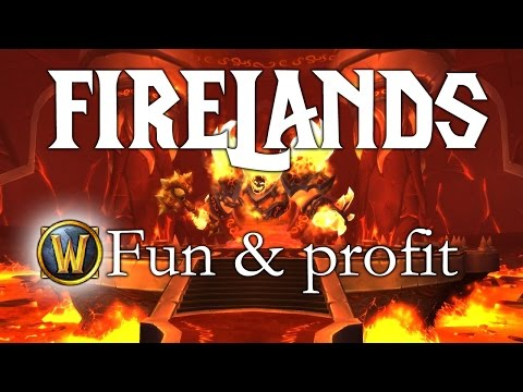 Firelands sólo - fun & profit 1450g/40 minut (WoW)