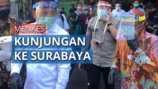 Menkes Terawan Lakukan Kunjungan Ke Surabaya, Tinjau Pasar Genteng