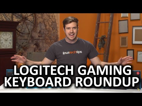 Logitech G810, G610, and G410 Keyboard Roundup – So many keyboards, so little time…