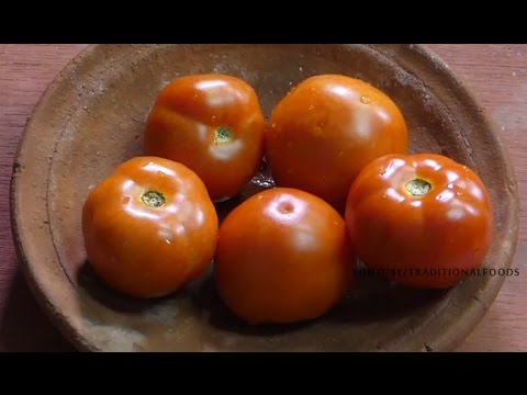 Tomato Rice Recipe | Tomato Bath | How to Make Tomato Rice  | TRADITIONAL FOODS