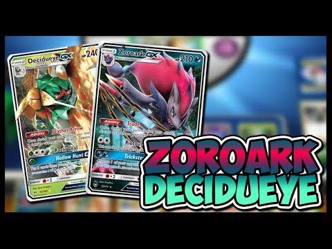 Zoroark GX / Decidueye GX – Pokemon TCG Online Gameplay