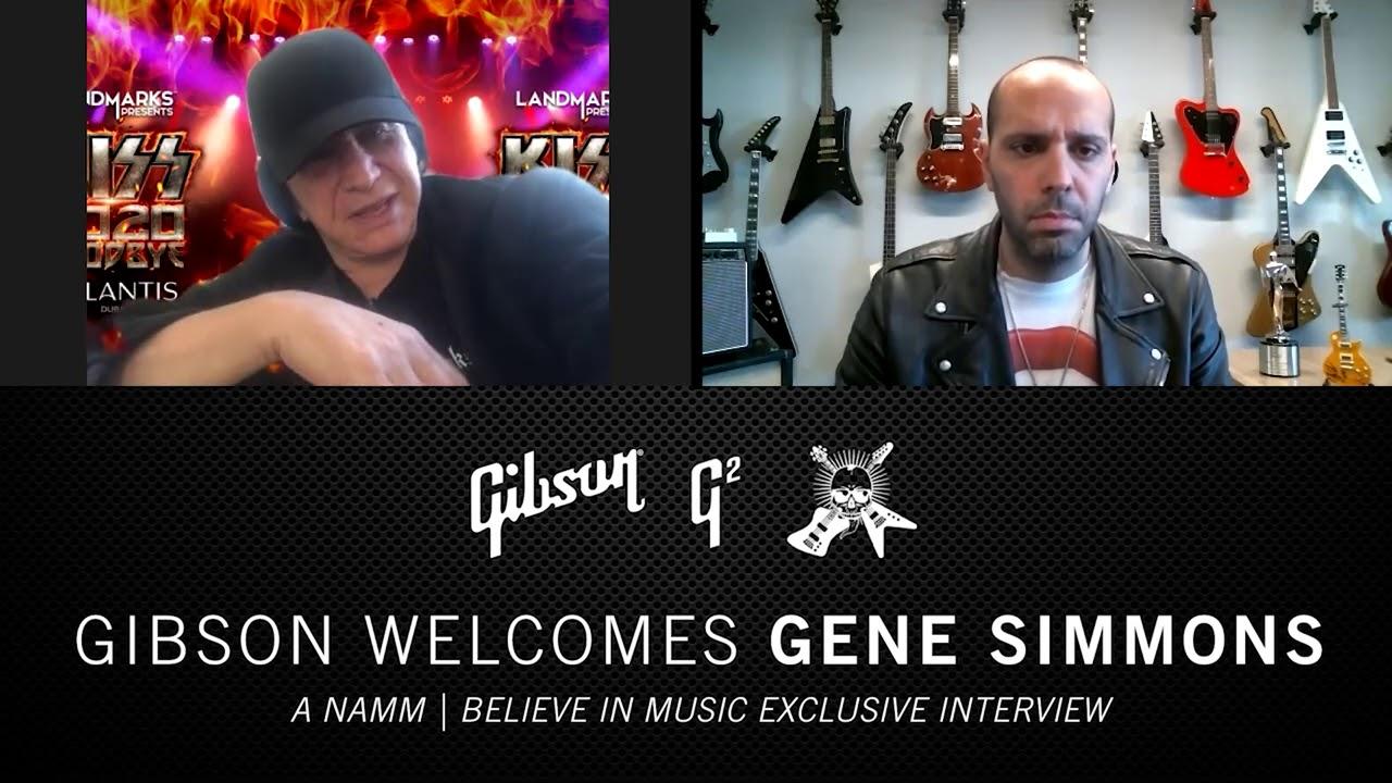NAMM 2021: Gibson Welcomes Gene Simmons