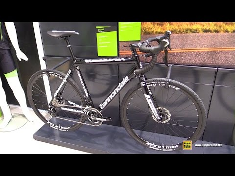 2016 Cannondale CAADX Cyclo Cross Bike – Walkaround – 2015 Eurobike