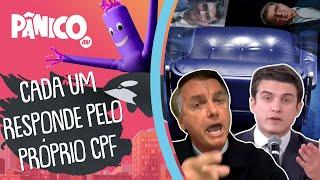 Bolsonaro tem treta com Marinho: 'Seu pai quer a cadeira do Flávio'