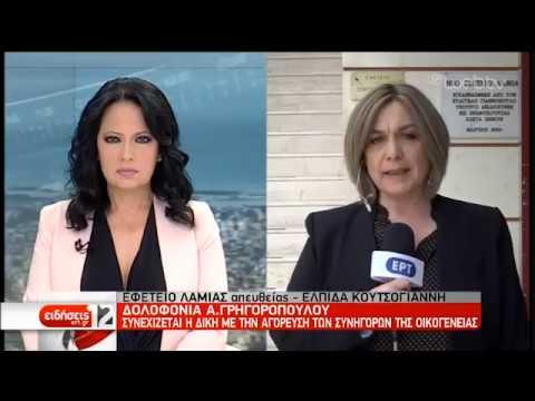 Δολοφονία Γρηγορόπουλου: «Η πολιτική αγωγή λογοδοτεί στο νεκρό παιδί» | 12/04/19 | ΕΡΤ