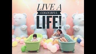 Live a colourful life 🍭