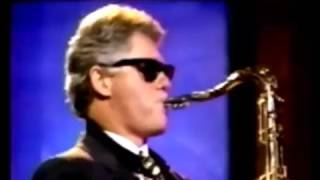 Bill Clinton plays Baker Street