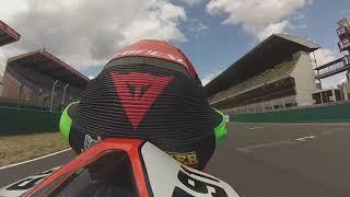 Vidéo Le Mans avec TBO en Aprilia par parapouf