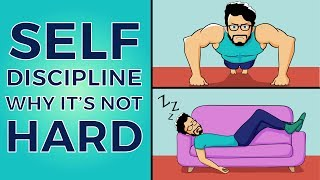 This is Why Self-Discipline is Easy (Animated Story)