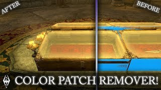 COLOR PATCH REMOVER!!- Xbox Modded Skyrim Mod Showcase