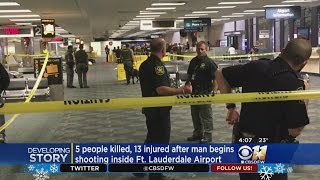 5 Dead, Several Wounded In Shooting At Ft. Lauderdale Airport