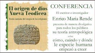 Conferencia El origen de dios