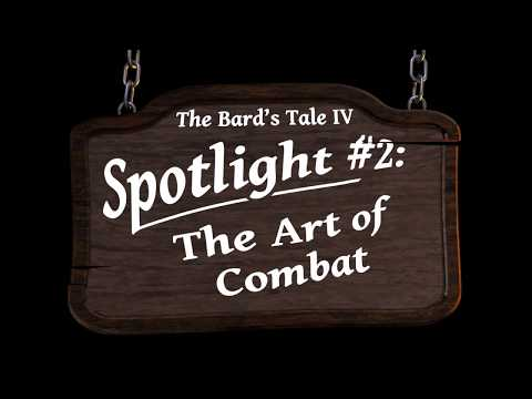 The Bard's Tale IV: Barrows Deep Spotlight #2 - Combat thumbnail