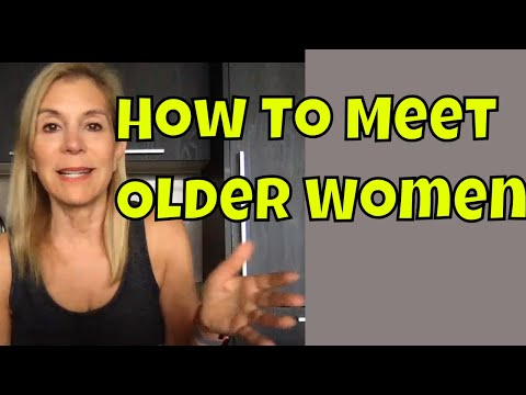 How To Meet Older Women - In Person or On-line