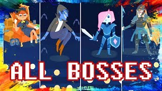 Dicey Dungeons ALL BOSSES Gameplay Walkthrough Playthrough Let's Play Game