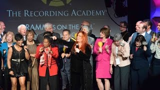 Members Dance, Sing with Wynonna Judd at 'Grammys on the Hill'