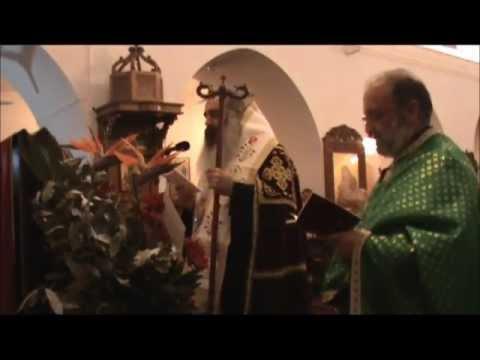 من خدمة المديح بكنيسة السيدة بطرطوس برئاسة الأسقف أثناسيوس فهد