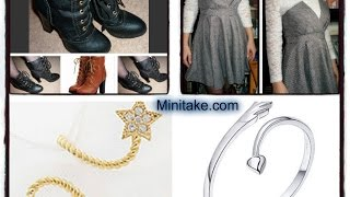 Minitake Boots, Dress And Midi Rings Review