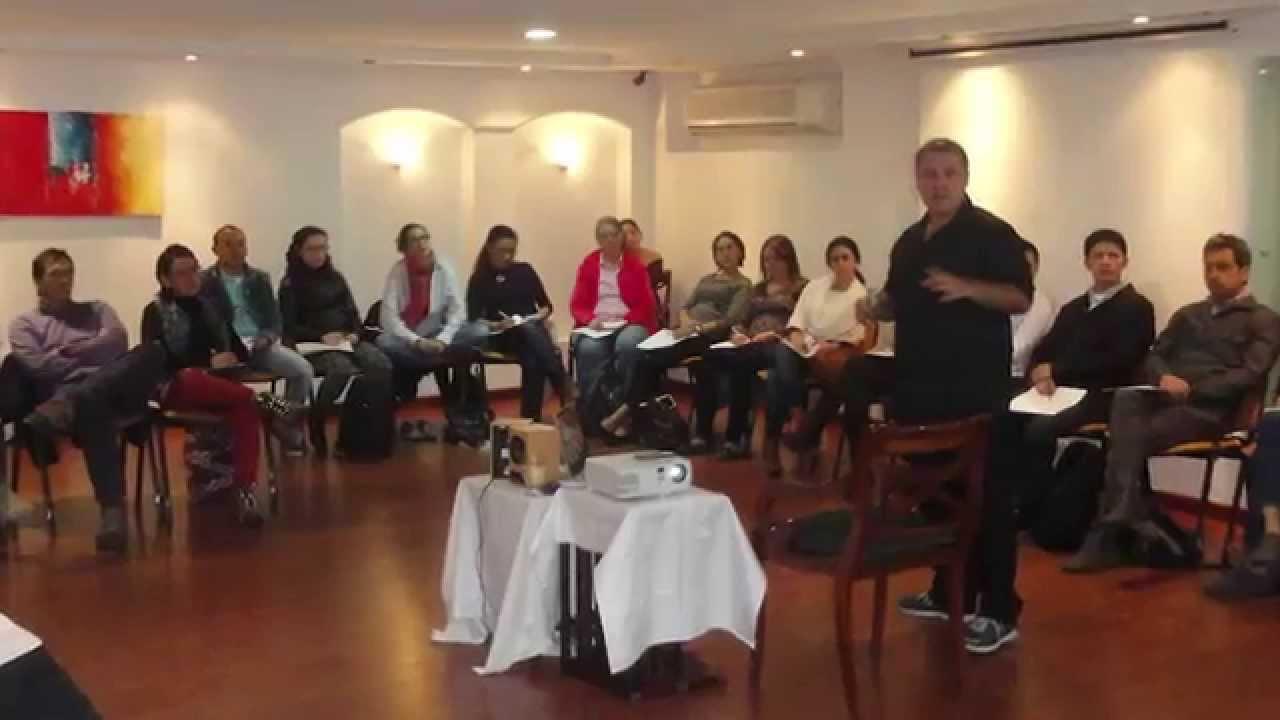 Seminario Estimulación Prenatal Musical parte 2 de Gabriel Federico en Bogotá - Colombia 2015