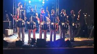 preview picture of video 'Black Eagles Drumline Endingen Teil 2'