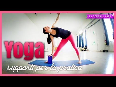 Quali sono e come si usano i supporti Yoga