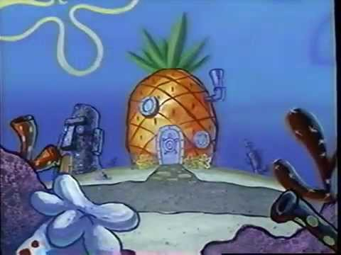 Video trailer för SpongeBob Squarepants - Intro (2004) Theme (VHS Capture)