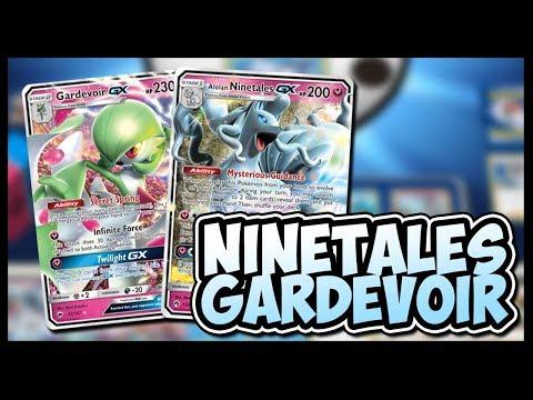 Alolan Ninetales GX / Gardevoir – Pokemon Trading Card Game Online Gameplay