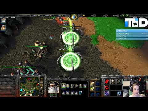 Warcraft III 2v2 #23 - ToD & Lucifer Vs Undead & Undead (Lost Temple)