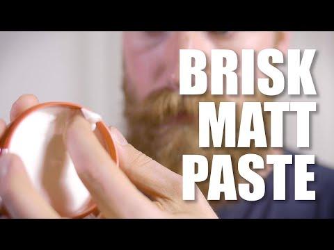 Brisk Mattpaste   Klebriger Spaß ohne Halt 😅   Männer Haarstyling Produkte