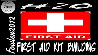First aid kit building and single use packets
