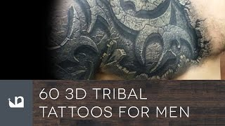 60 3D Tribal Tattoos For Men
