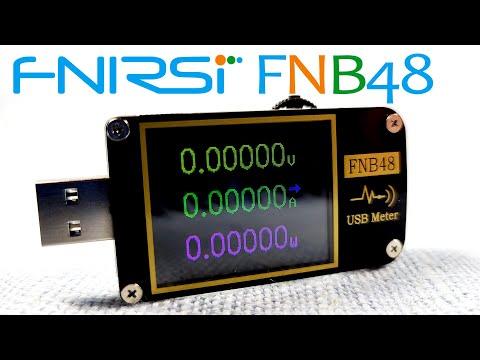 FNIRSI FNB48: USB-тестер с триггером протоколов быстрой зарядки и осциллографом. Умеет почти все