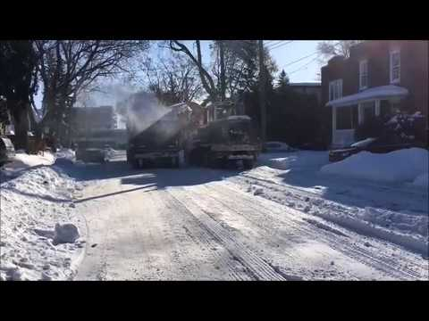 Montreal snow removal
