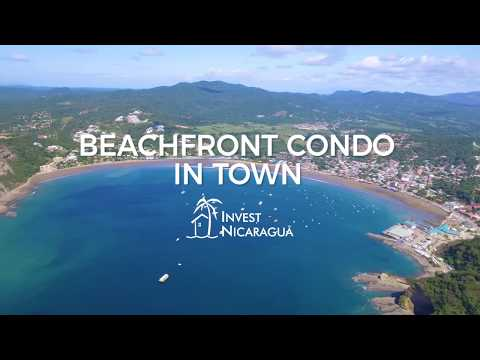 Beachfront Condo in Town