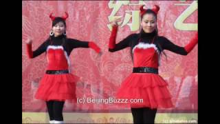 Video : China : The Spring Festival Temple Fair in BeiJing 北京
