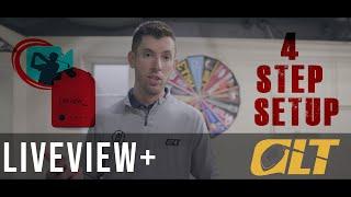 Liveview Golf tutorial  - 4 Step Setup Process