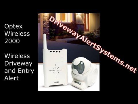 Optex Driveway Alert System RCTD-20U | Wireless 2000 Driveway Alarm System Review (demo)
