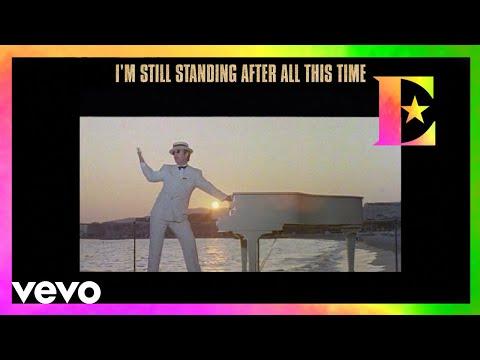 Elton John - I'm Still Standing (Remastered 2016 / Lyric Video)