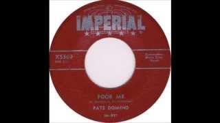 Fats Domino - Poor Me - September 23, 1955