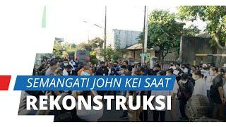 Polisi Gelar Rekonstruksi, Tetangga Datang Menyemangati John Kei: Dia Orang yang Baik dan Ramah