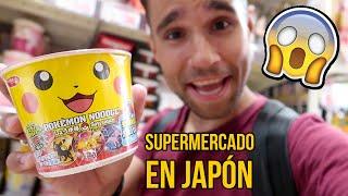 Visitando un SUPERMERCADO GIGANTE en JAPÓN