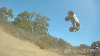 FPV Race Drone Freestyle - X-Maxx vs. Drone