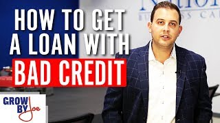 How To Apply For A Small Business Loan With Bad Credit