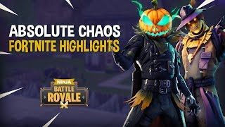 Absolute Chaos!!   Fortnite Battle Royale Highlights   Ninja