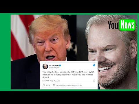 Jim Gaffigan blasts Trump in viral Twitter rant 'He's a traitor and a con man'
