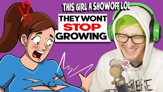 """They """"Wont stop growing"""" - Reacting to """"True Story"""" Animations"""